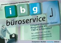 Logo ibg-Büroservice
