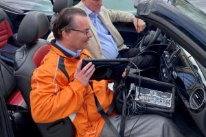 Mit diesem Messwagen wurden die Signalstärken des Mobilfunks ermittelt