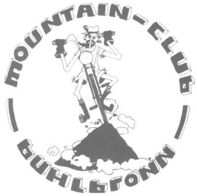 Logo des Mountain-Club Buhlbronn in grauer Schrift mit weißem Hintergrund