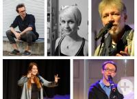 alle Slamer: Flemming, Elster, Gommel, Sigl, Konrad