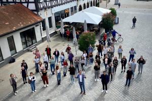 Die Stadtverwaltung begrüßt 41 neue Gesichter.