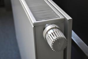 Heizkörper mit Thermostaat