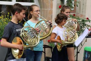 Die Horngruppe der Jugendmusikschule Schorndorf