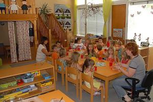 """Im Kindergarten """"Helle Eiche"""""""