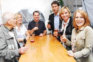 Ein Prosit auf den Weinmarkt