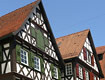 Fachwerkhäuser in der Schorndorfer Innenstadt