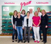 Moser SchuhModen und FußOrthopädie-Team