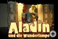 Aladin und die Wunderlampe, ein Figuren/Schauspiel für Zuschauer ab 6+