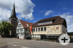 Gebäudeansicht Verwaltungsstelle Haubersbronn