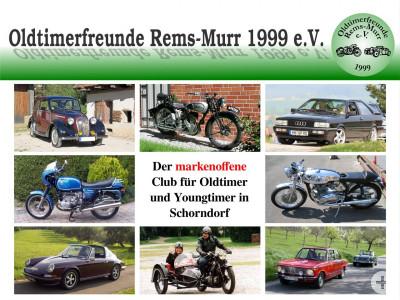Banner der Oldtimerfreunde Rems-Murr