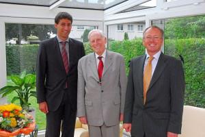 OB Klopfer, Dr. Werner Lempp und EBM Reingruber