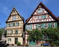 Fachwerkhäuser in der Schorndorfer Römmelgasse