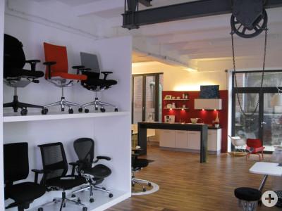 Chairholder Showroom