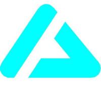 Logo von Akire in hellblau mit weißem Hintergrund