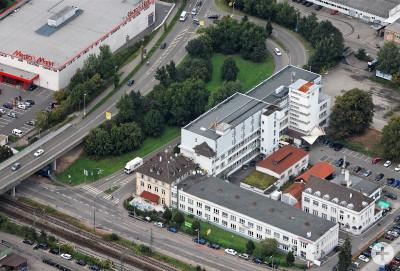 KÜBLER-AREAL Schorndorf, Luftbild