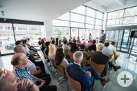 Rund 60 Interessierte nahmen am Gründertreffen teil.