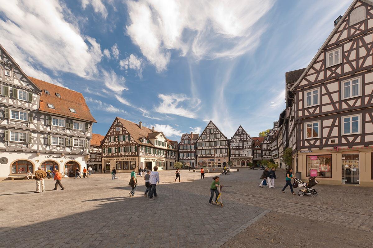 Oberer Marktplatz in Schorndorf
