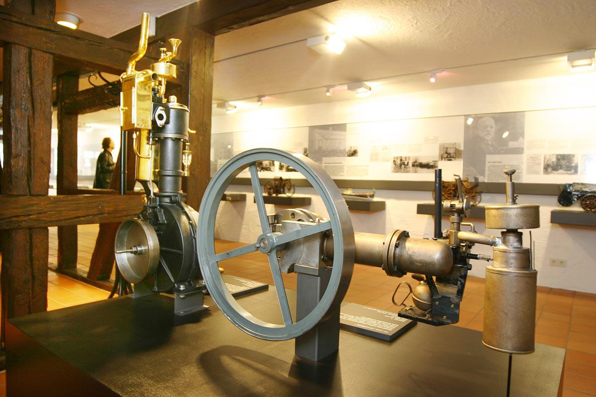 Kurzführung im Gottlieb Daimler Geburtshaus