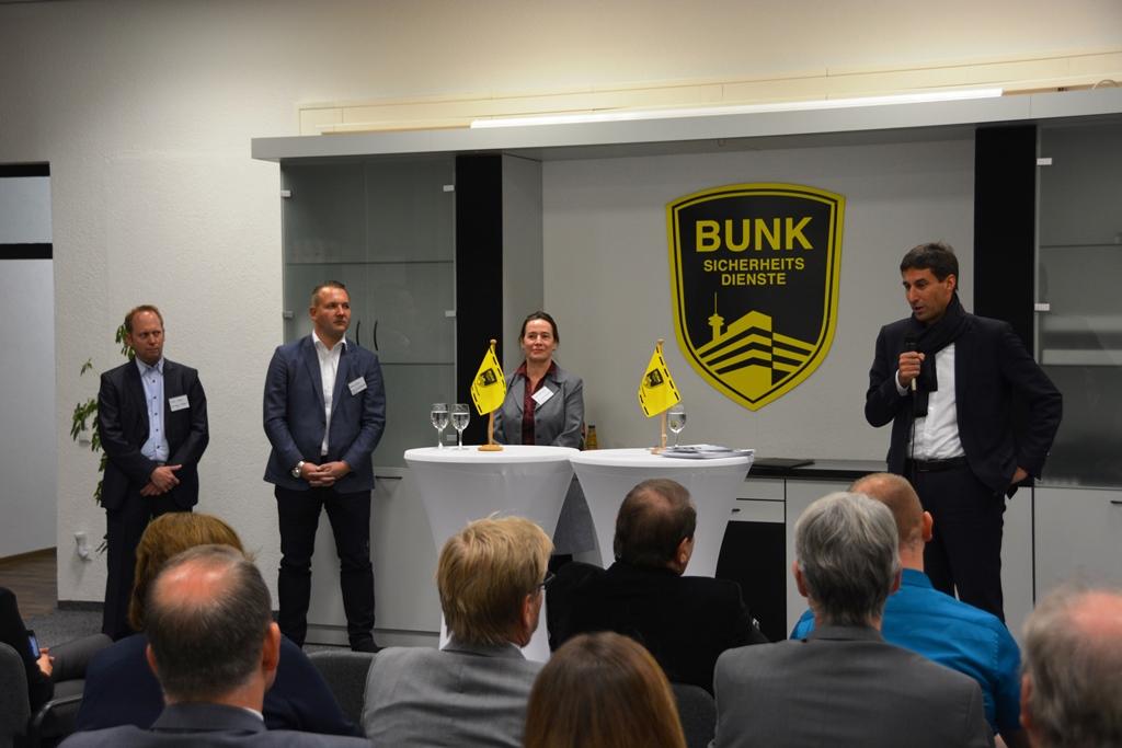 """""""Unternehmens-Einblicke"""" bei BUNK am 19.11.2018"""