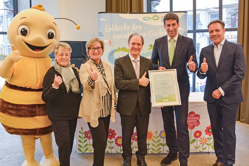 Das Unternehmen Frech unterstützt die Remstal Gartenschau 2019 in Schorndorf.