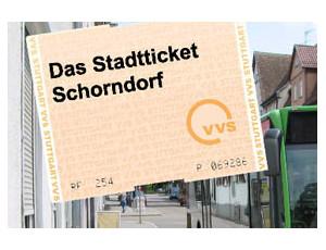 Schorndorfer Stadtticket