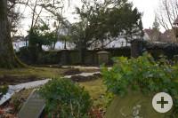 Kleine Wege sollen die Besucher des Alten Friedhofs an neue Orte führen.