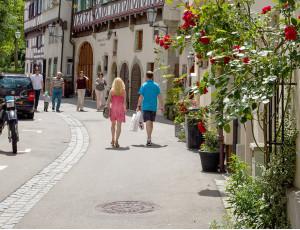 Gasse in der Schorndorfer Altstadt