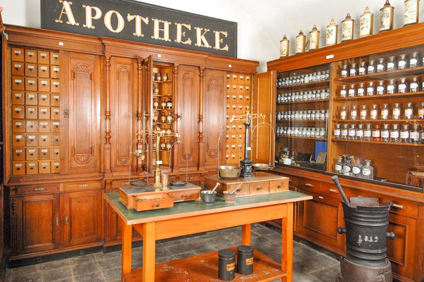 Historische Apothekenkeller in der Gauppschen Apotheke