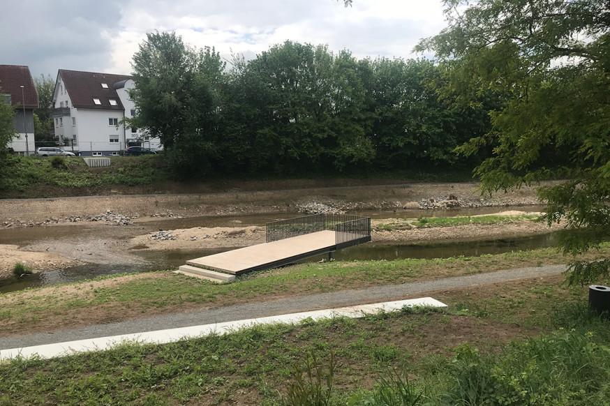 Die neuen Aufenthaltsflächen am Schorndorfer Baurenwasen.