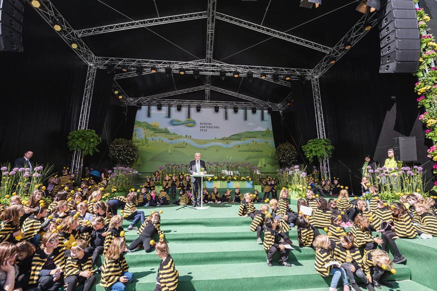 Eröffnung der Remstal Gartenschau 2019