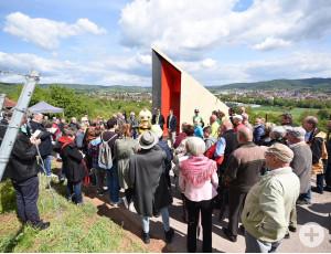 Einweihung des Prismas auf dem Schorndorfer Grafenberg