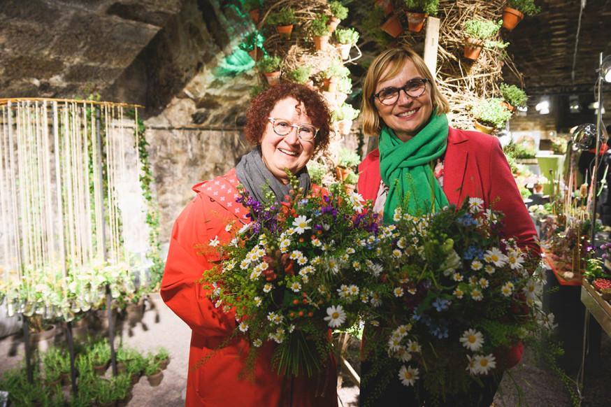 Bis 2. Juni sind Kräuter und Heilpflanzen bei der Ausstellung Blumen im Schlosskeller in Szene gesetzt.