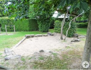 Sand darf natürlich nicht fehlen.