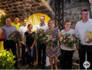 """Die 6. Ausstellung im Schlosskeller zum Thema """"Markt"""" ist eröffnet."""