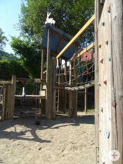 Klettergerüst Spielplatz Hasenklinge