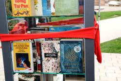 Das offene Bücherregal im Stadtpark
