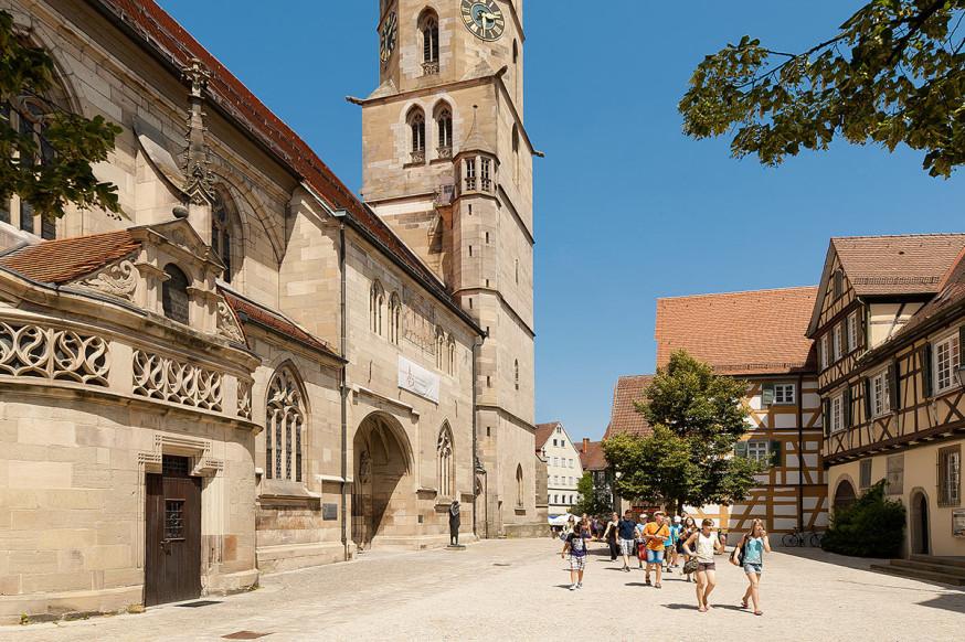 Bei Führungen kann das historische Schorndorf erlebt werden.