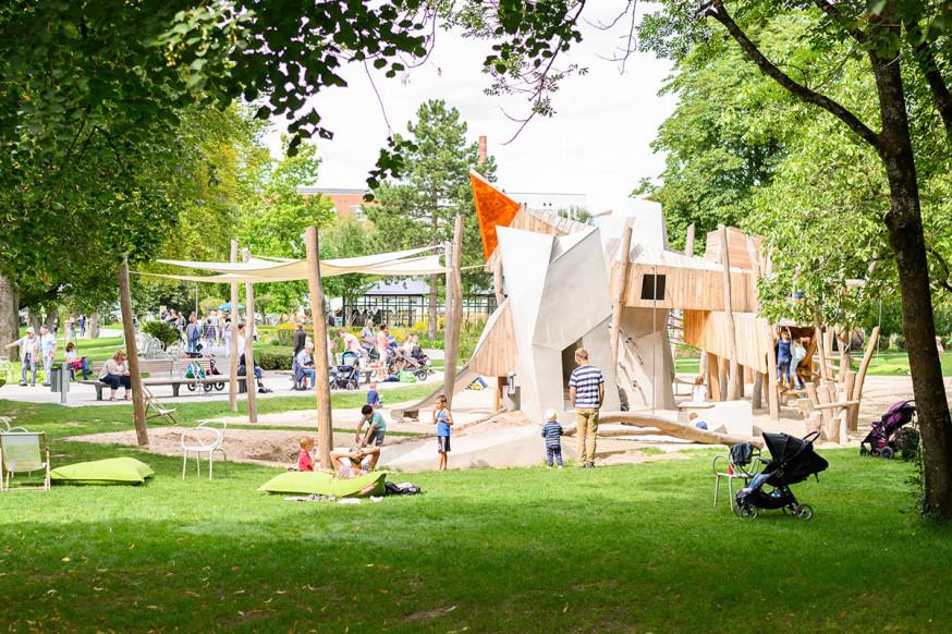 Spielplatz im Schlosspark