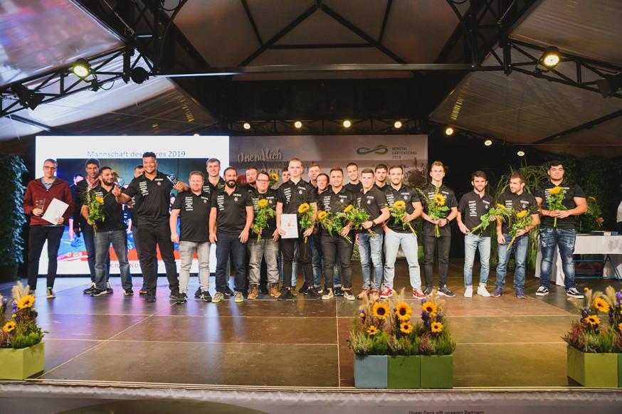 Die Mannschaft des Jahres 2019: Die RInger des ASV Schorndorf.