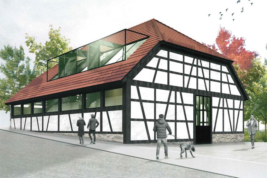 So soll sie nach der Sanierung aussehen, die Alte Kelter in Miedelsbach.