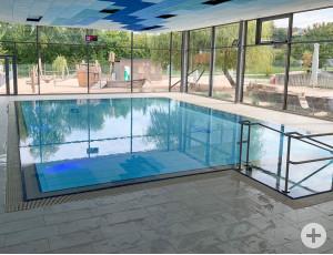 Kürzlich wurde das Lehrschwimmbecken eingeweiht.