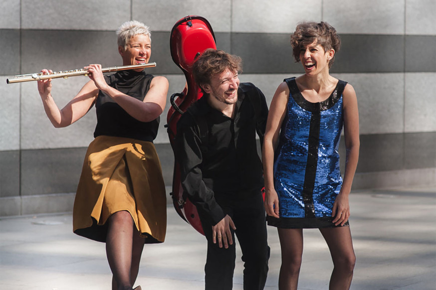 Das Trio vis-à-vis spielt am 9. November.