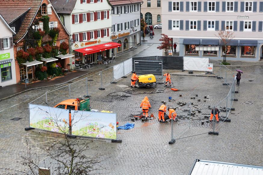 Der Untere Marktplatz.