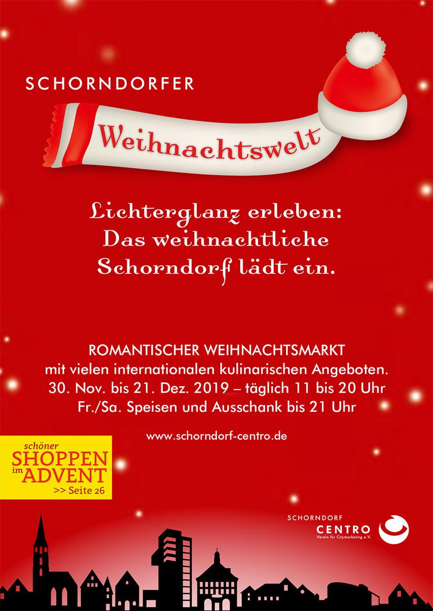 Schorndorfer Weihnachtswelt 2019