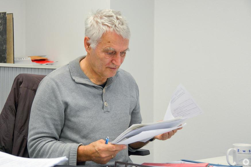 Schuldnerberater Martin Pfrommer.