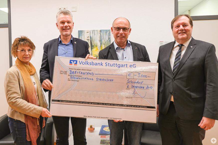 Dr. Karin Fehrenbach, Edgar Hemmerich, Andreas Seufer, Dieter Retter (v.l.).