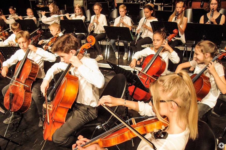 In der JMS entfalten Kinder und Jugendliche ihre Talente.