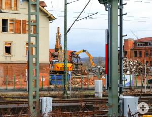Das-Breuninger-Areal wird abgerissen.