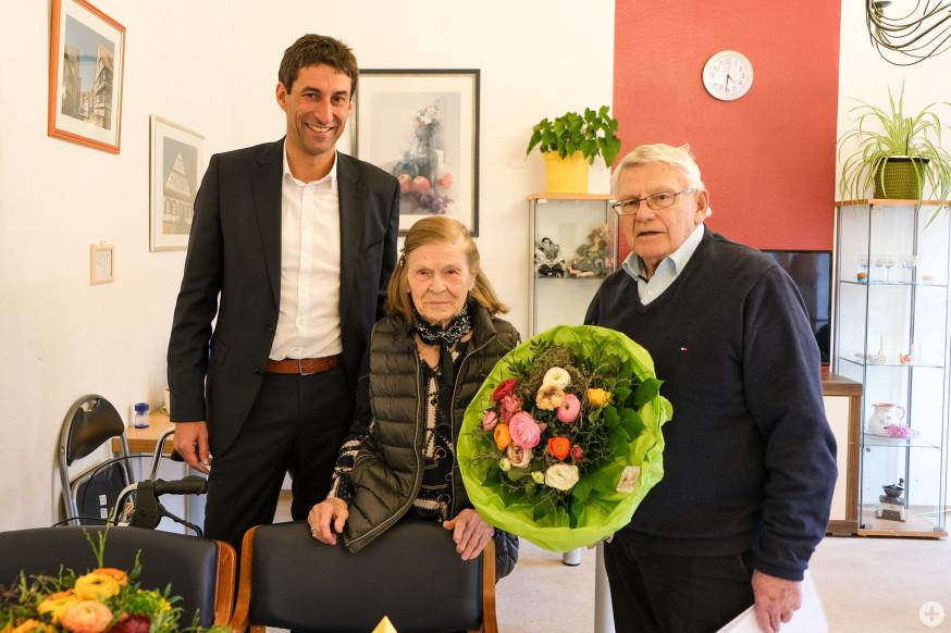 Matthias Klopfer, Charlotte Pschenitschni und Karl-Gert Röder (v.l.).
