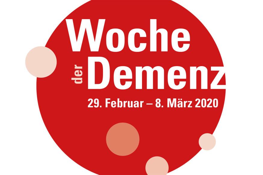 Woche der Demenz vom 29. Februar bis 8. März 2020